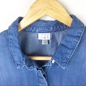 a new day Tops - A new day   Chambray blouse